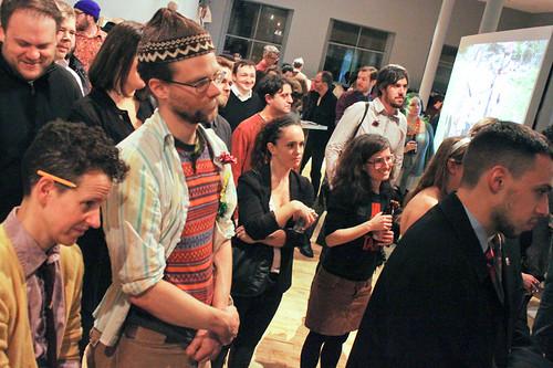 The crowd (photo by Maria Pecchioli)