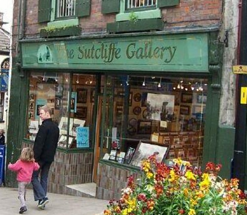 Sutcliffe Gallery, Whitby, England - taken in 2002