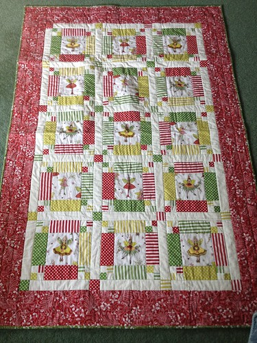 Emma's Quilt all Finished by rocalisa