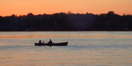 Long weekend fishing.