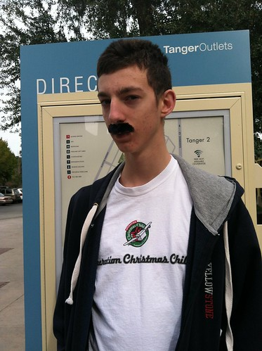 The emergency 'stache