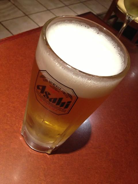 Asahi beer - Izakaya Takonoki