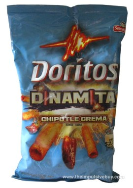 Doritos Dinamita Chipotle Crema Rolled Tortilla Chips Bag
