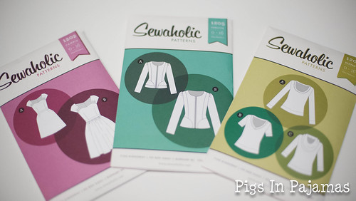New Sewaholic patterns