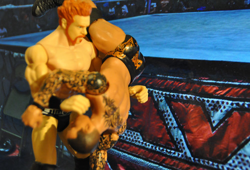 Sheamus vs. Randy Orton