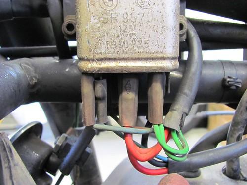Starter Relay Wiring Detail