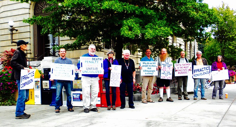 Boise,ID Opposing the Death Penalty CNV Action 2016 (2)