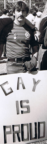 Acanfora at NYC Gay Pride Parade 1972