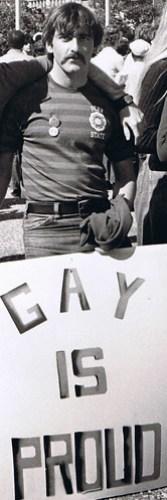 Acanfora at NYC Gay Pride Parade 1972