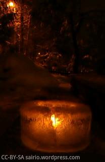 jäinen-kynttilälyhty