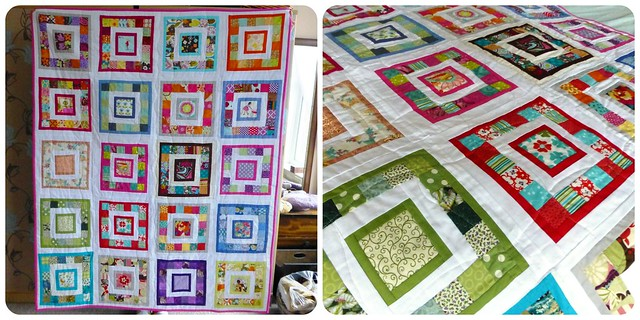 Bee Blessed Quilt Dec12 - 'Very Square Like Me'