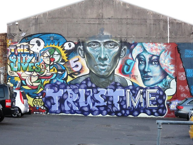 Auckland graffiti