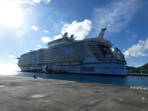 11-15-12 St. Maarten 29 - Allure of the Seas, biggest cruise ship in the world