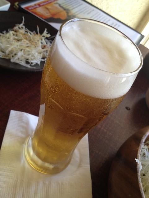 Asahi beer - Kimukatsu