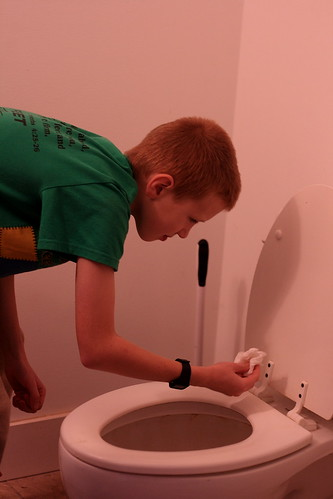 Lincoln's Toilet Training