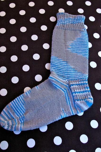 Cloudy Day Socks