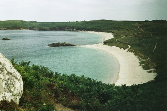 best UK beaches Great Bay Isles of Scilly