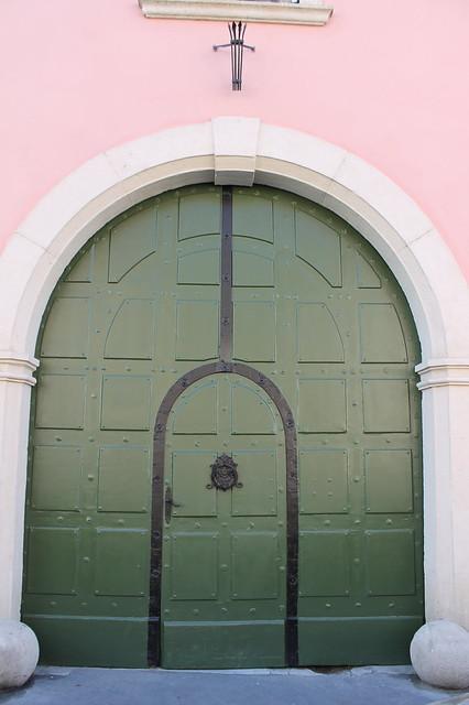 Door in Budapest