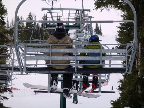 Largo dia de Esqui