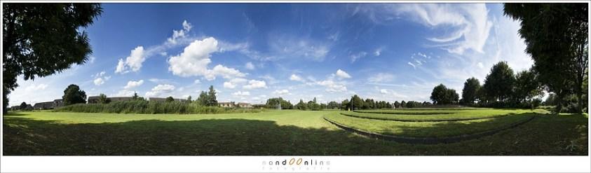 Voorkomen van lange, smalle panorama foto's - door een deel weg te snijden heb je geen horizon in het midden