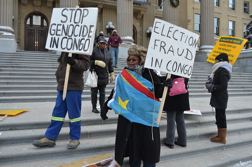 Disowning - Protest of Congolese Genocide