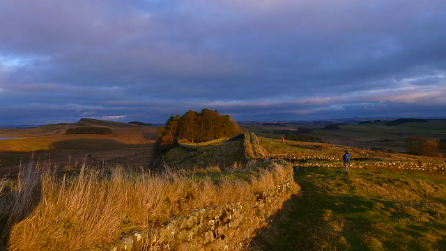Hadrians Wall, Hotbank Crags, Milecastle 37