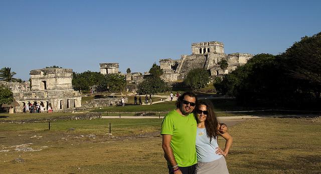Ruinas maya de Tulum, Yucatán