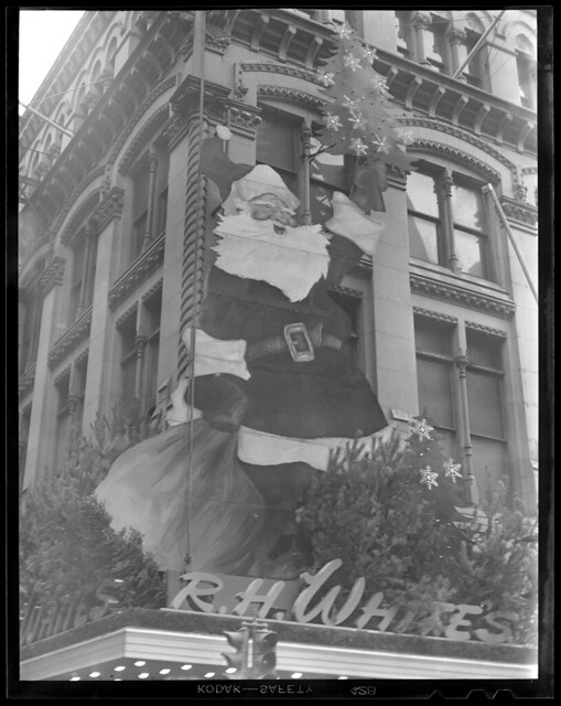 Christmas decoration, R. H. White's