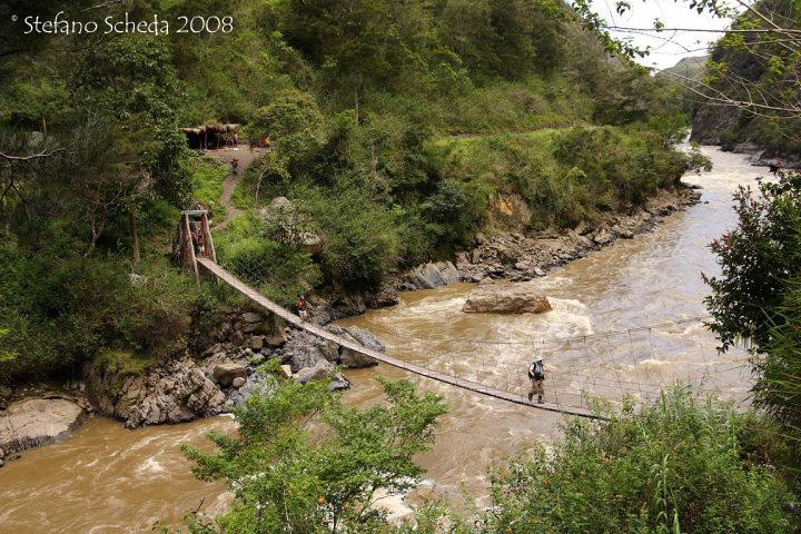 Suspension bridge - West Papua