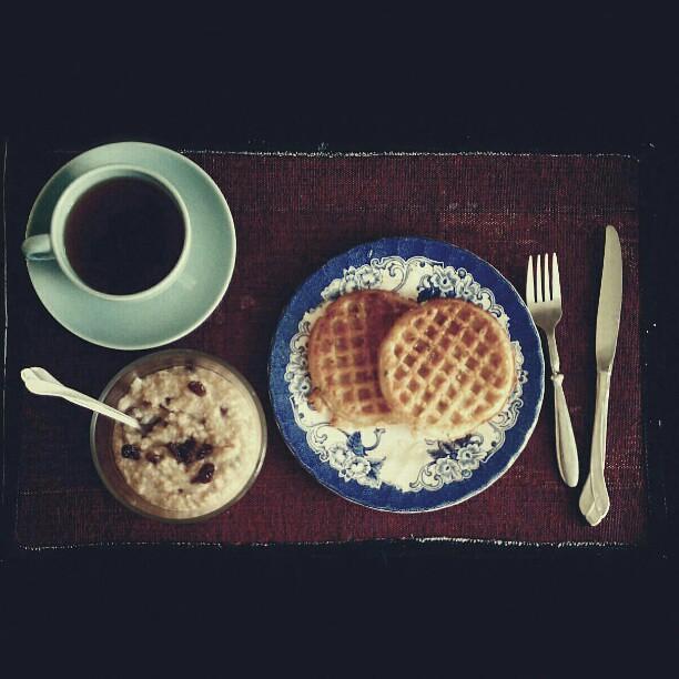 #breakfast #onthetable