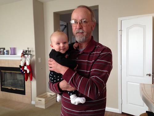 Grandpa visits