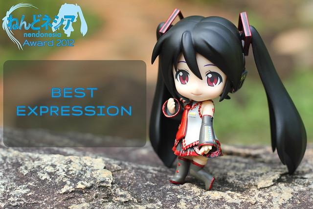 Nendonesia Award 2012: Best Nendoroid Expression