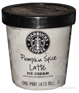Starbucks Pumpkin Spice Latte Ice Cream