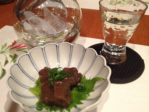 日本酒とお通し@酒菜(銀座・新橋)