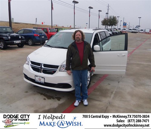 Congratulations to Mark Zittel on the 2013 Dodge Grand Caravan by Dodge City McKinney Texas