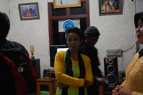 "Dancer of ""Ronggeng Gunung"""
