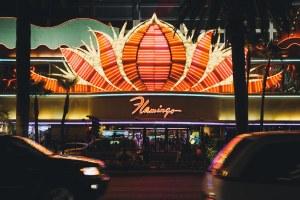 The Flamingo from across the street - Las Vegas Nevada, 2012