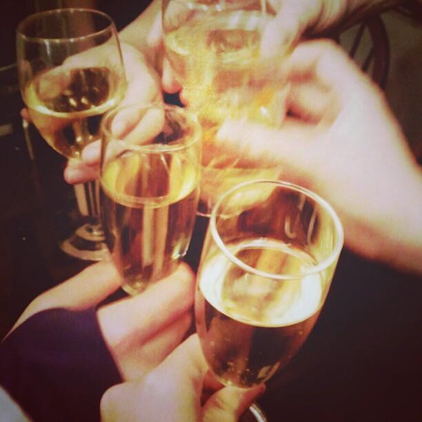 Happy New Year! #happynewyear #nye2012 #nye #2013 #toast #champagne