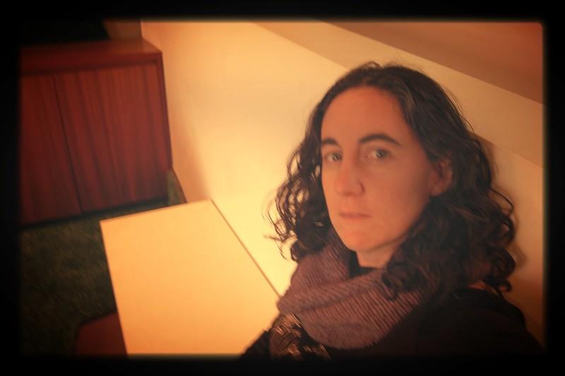 Self Portrait on a Bench