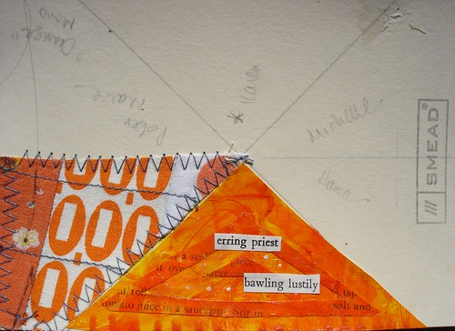 Millenium Mail Art Swap 2013: Orange Monochromatic