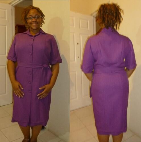 Abbey Dabbles: Shoulder Seamed Shirt Dress