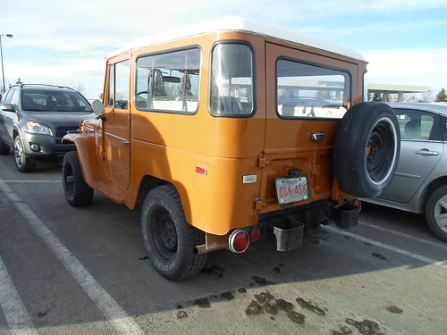 Toyota Land Cruiser rear