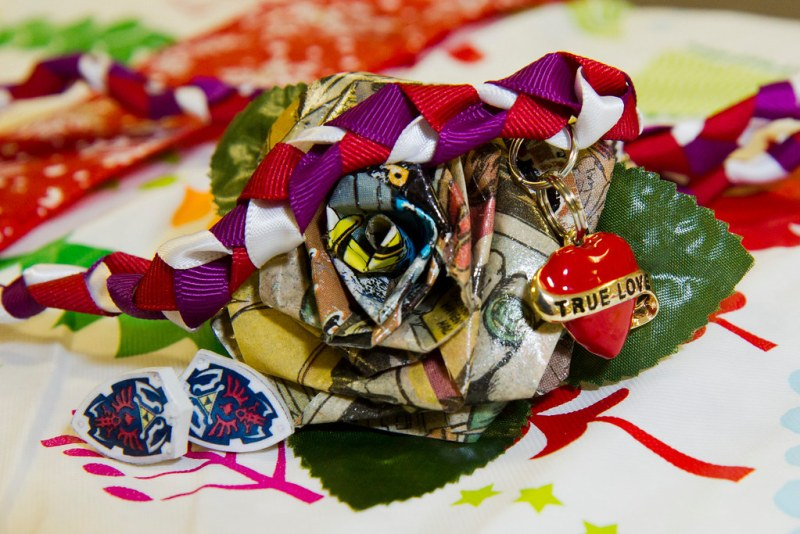 Cufflinks, Buttonhole, and Handfasting Cord