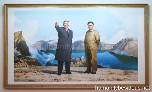 The Leaders of the DPRK at Mt. Paekdu, #1