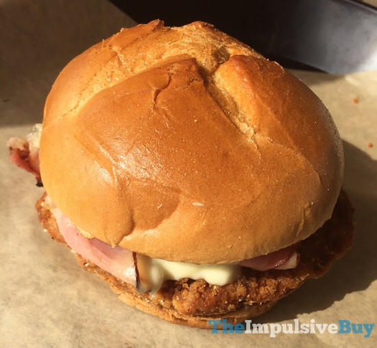 Arby's Buttermilk Chicken Cordon Bleu Sandwich