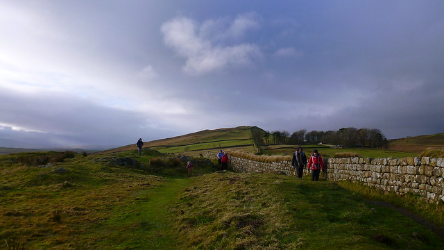 Peel Crags, Hadrians Wall