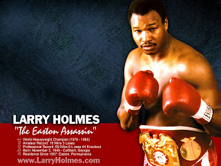 Exclusive Interview With Larry Holmes