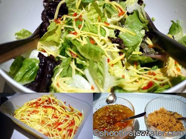 Deli San Honore-mango-catfish salad