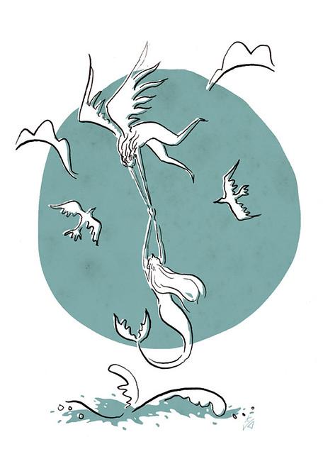 Illustration Friday: Wings