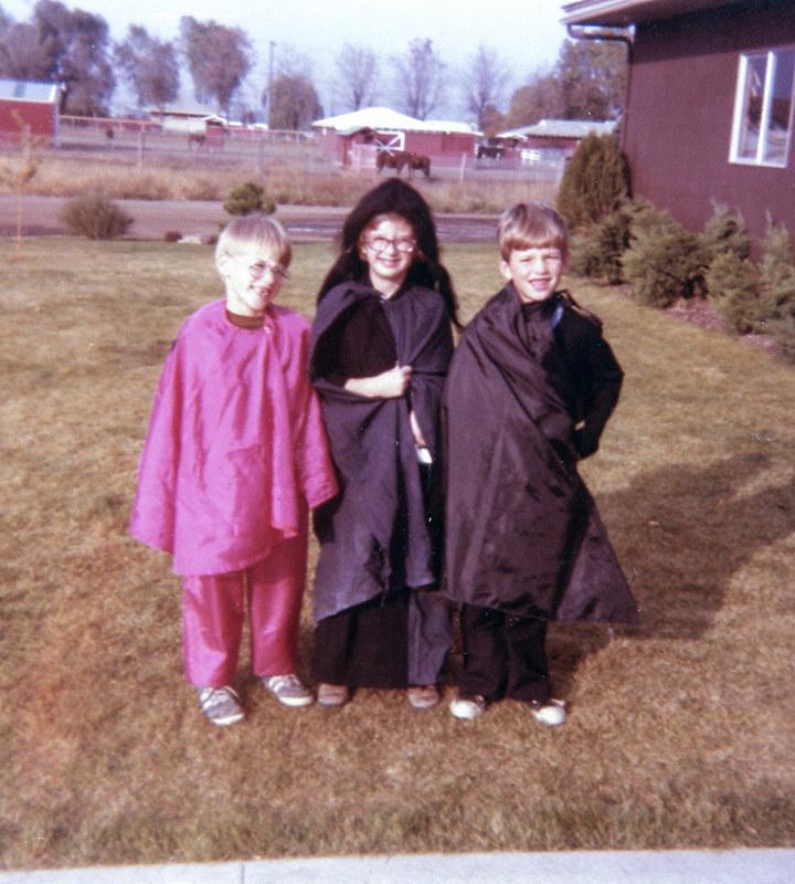 Halloween when I was 5.